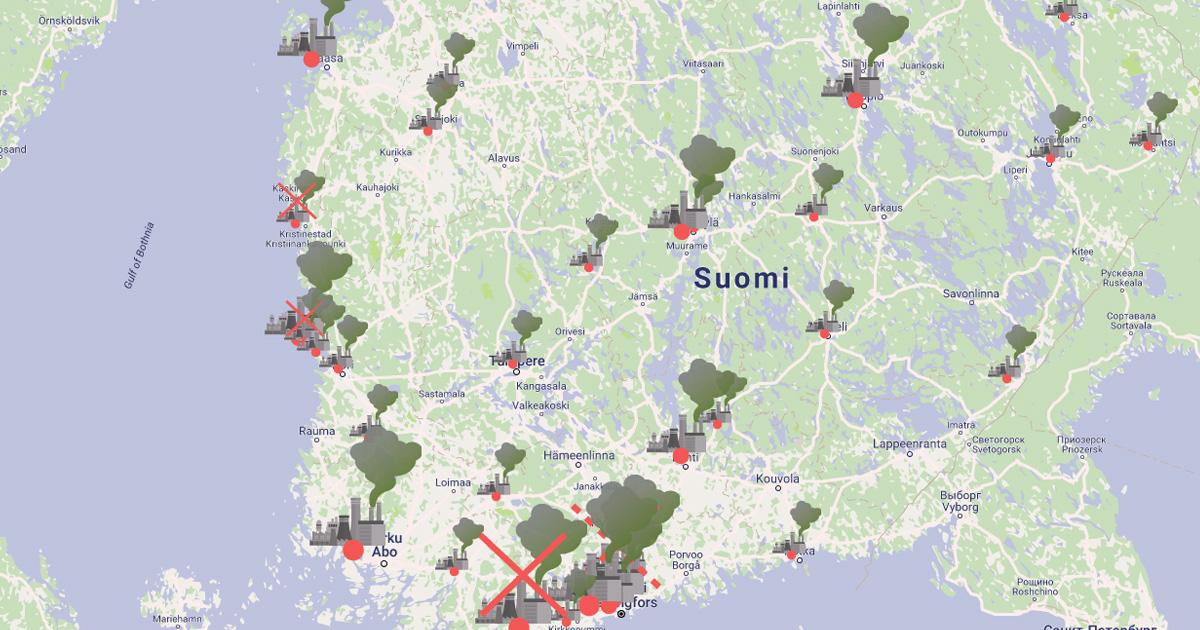 Lahti Suomen Kartalla