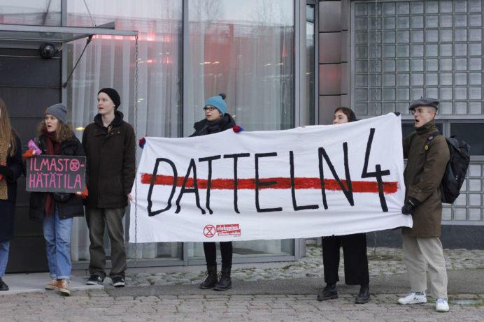 Datteln4-vastainen mielenosoitus